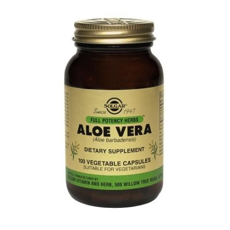 FP ALOE VERA VEGETABLE FCO 100 CAPSULAS