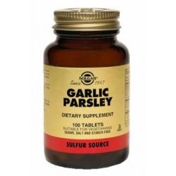 GARLIC PARSLEY FCO 100 TABLETAS