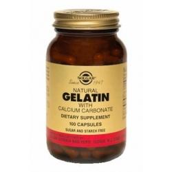 GELATINA CAPSULES (WHITE CALCIUM) FCO 100 CAPSULAS