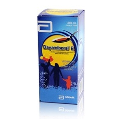 DAYAMINERAL(MULTIVITAMINICO) (SUPERMERCADO VIRTUAL A-Z) JARABE FCO* 240ML