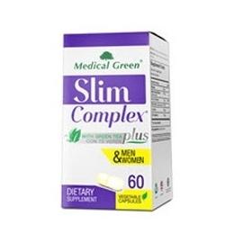 SLIM COMPLEX PLUS ( ADELGAZANTE CON TE VERDE) HOMBRE Y MUJER FCO*60 CAPSULAS