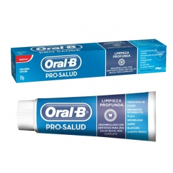 OFERTA CREMA DENTAL ORAL B PROSALUD 75ML X 3 UNIDADES