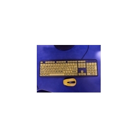 LARG PRINT KEYBOARD AND MOUSE (ENVIOS COLOMBIA) CANTIDAD*1
