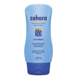 ZAHARA SFP 50 (PROTECTOR SOLAR USO DIARIO -CON VITAMINA E) FCO*120ML