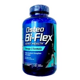 OSTEO BI-FLEX JOINT HEALTH FORMULA CON OMEGA-3 (GLUCOSAMINA-MSM-HYALURON) FCO*120 CAPS