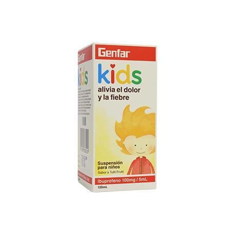 IBUPROFENO GENFAR KIDS DOLOR Y FIEBRE ( envios a todo colombia)