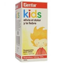 IBUPROFENO GENFAR KIDS DOLOR Y FIEBRE FRASCO X 120 ML envios a todo colombia