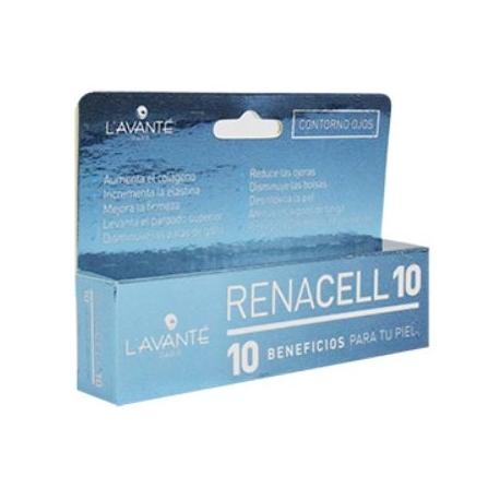 RENACELL CONTORNO DE OJOS 10 BENEFICIOS PARA TU PIEL (ENVIOS A COLOMBIA) FCO*15GR