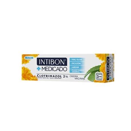 INTIBON CREMA MEDICADA VAGINAL (ENVIOS A TODA COLOMBIA) TUBO*20gr