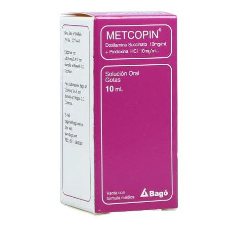 Metcopin (10+10)Mg/mL(1+1)% FCO*10mL (Compra atraves de whatsapp)