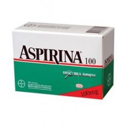 ASPIRINA 100 MG CAJA 100 TABLETAS