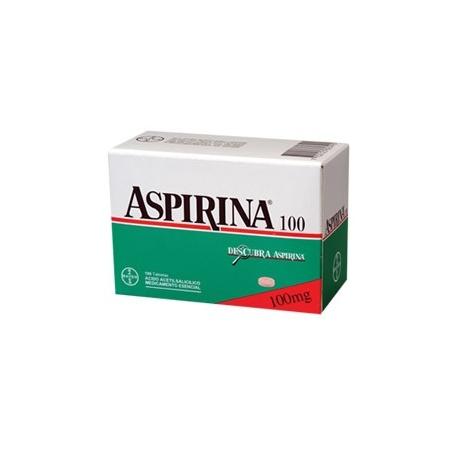 ASPIRINA*100 MG* CAJA*100 TABLETAS