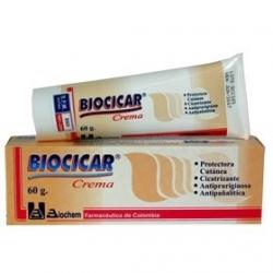 BIOCICAR CREMA (CICATRISANTE) TUBO*60GR (ENVIOS A COLOMBIA)