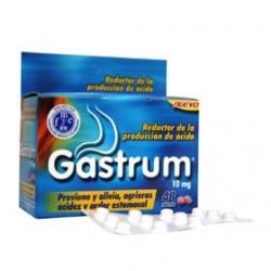 GASTRUM REDUCTOR DE LA PRODUCCION DE ACIDO CAJA 48 TABLETAS