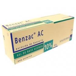 BENZAC AC 10% PROBLEMAS DE ACNE FCO 60GR