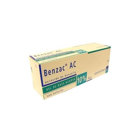 BENZAC AC*10%*AYUDA A PROBLEMAS DE ACNE* FCO*60GR