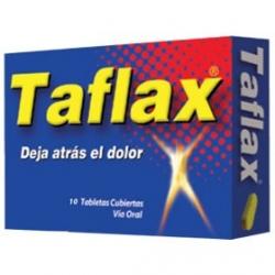 TAFLAX*DEJA ATRAS EL DOLOR* 300GR CAJA*10 TABLETAS X 2 UNIDADES
