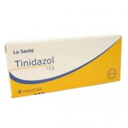 TINIDAZOL*1GR*CAJA*4 TABLETAS