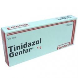 TINIDAZOL*1GR*GENFAR*CAJA*4 TABLETAS