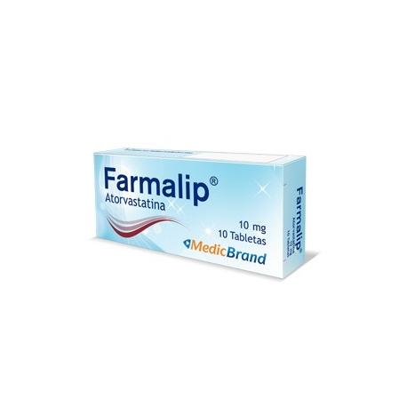 FARMALIP*10MG*CAJA*10TBLTS